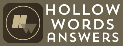 Hollow Words Answers | Hollow Words Cheats